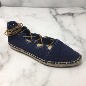 Tory Burch Sonoma Gillie Espadrille Shoes Size 5.5